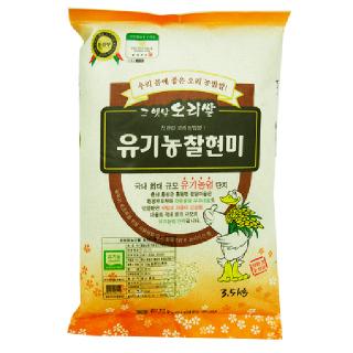 홍동농협 친환경 찰현미, 2019년산 , 3.5kg