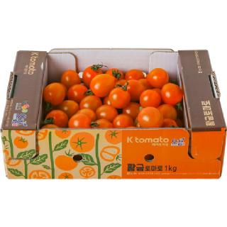 [전단상품]황금대추방울토마토, 1kg/박스