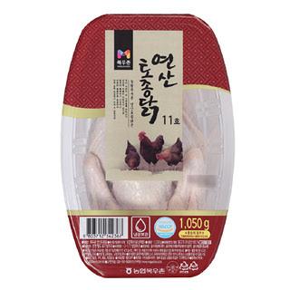 목우촌 연산 토종닭 11호, 1,050g